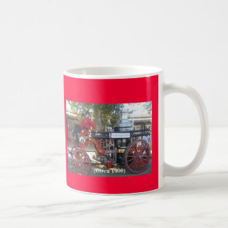 Fire Fighting - Yesterday and Today Classic White Coffee Mug