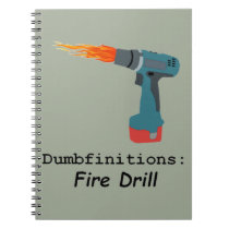 Fire! Fire Drill Back to School Notebook