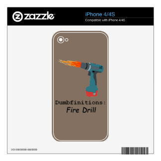 Fire! Fire Drill Skins For The iPhone 4