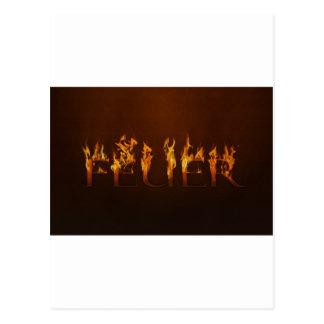 Fire - Fire - Hot Postcard