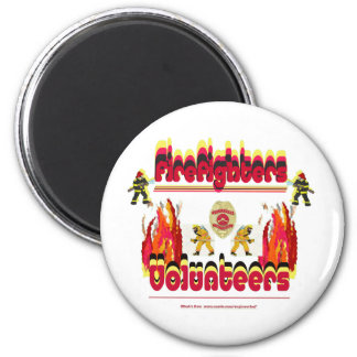 Fire Firefighter Volunteer Magnets