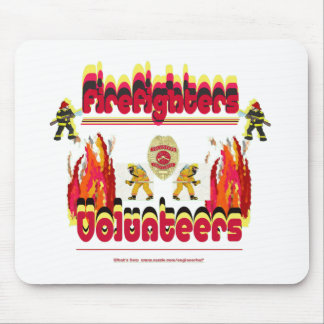 Fire Firefighter Volunteer show Mouse Pad