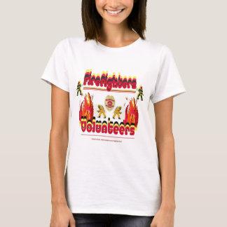 Fire Firefighter Volunteer T-Shirt
