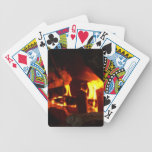 FIRE : Fireplace Hearth Bicycle Poker Deck