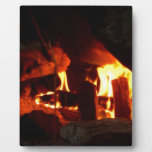 FIRE : Fireplace Hearth Display Plaque