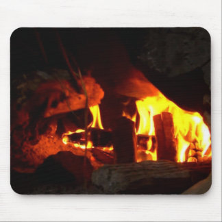 FIRE : Fireplace Hearth Mouse Pads