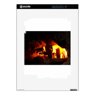 FIRE : Fireplace Hearth Skin For The iPad 2