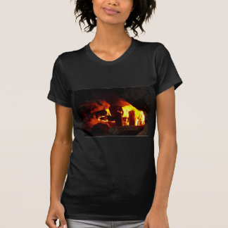 FIRE Fireplace Hearth Tshirt