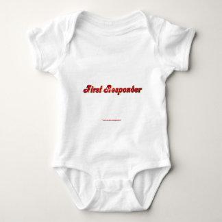 Fire First Responder Baby Bodysuit