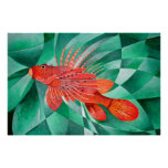 Fire Fish Posters