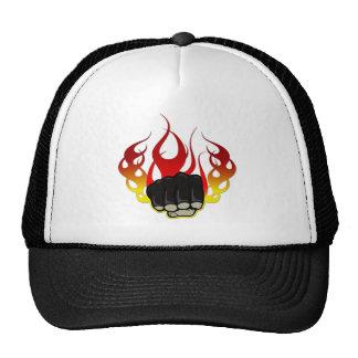 Fire fist trucker hat