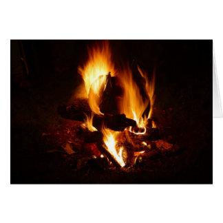 Fire Flame Card