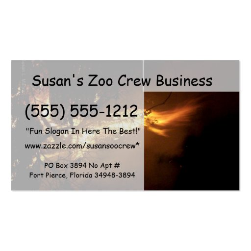 Fire flame man shape burning bonfire picture Double-Sided standard business cards (Pack of 100)