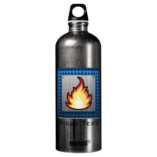 Fire Flame; Metal-look SIGG Traveler 1.0L Water Bottle