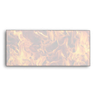 Fire / Flame Pattern Background Envelope