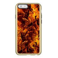 Fire / Flame Pattern Background Incipio Feather® Shine iPhone 6 Case
