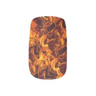 Fire / Flame Pattern Background Minx® Nail Art