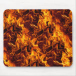 Fire / Flame Pattern Background Mouse Pad