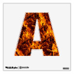 Fire / Flame Pattern Background Room Sticker