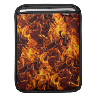 Fire / Flame Pattern Background Sleeve For iPads