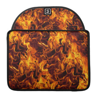Fire / Flame Pattern Background Sleeve For MacBooks