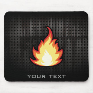 Fire Flame; Rugged Mouse Pad