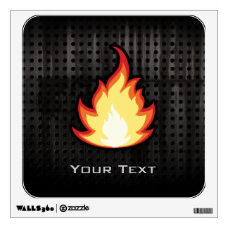 Fire Flame; Rugged Wall Decal