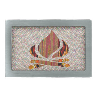 FIRE Flame symbol of SOUL POWER gifts fun festival Belt Buckles