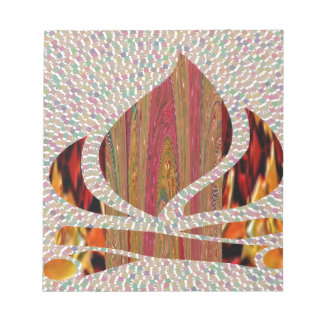 FIRE Flame symbol of SOUL POWER gifts fun festival Note Pads