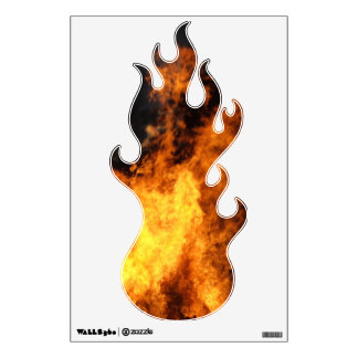 Fire Flame Wall Decal