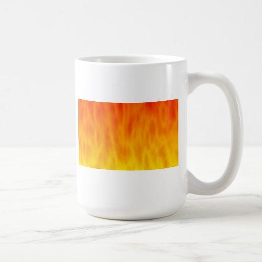Fire / Flames Artwork: Coffee Mugs