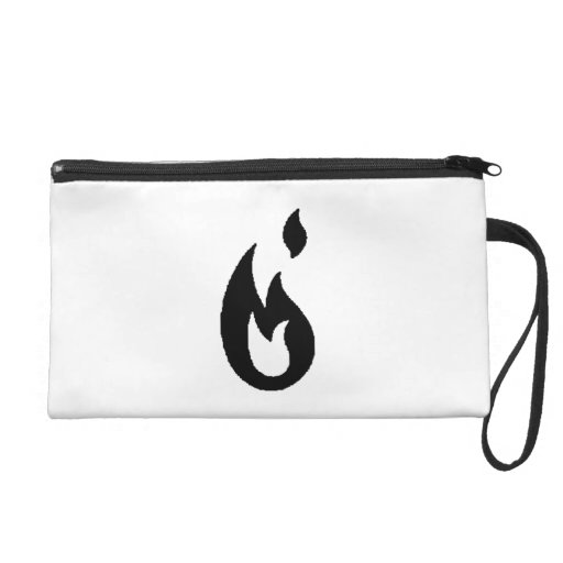 Fire Flames Wristlet Clutches