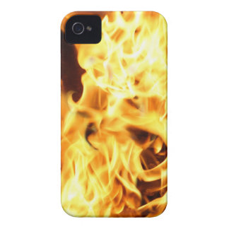 Fire & Flames Burning Fiery Gift Item iPhone 4 Case-Mate Case
