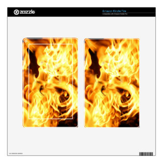 Fire & Flames Burning Fiery Gift Item Kindle Fire Skins