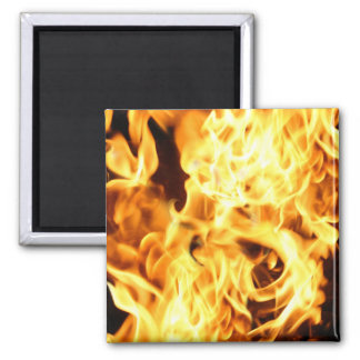 Fire & Flames Burning Fiery Gift Item Magnet