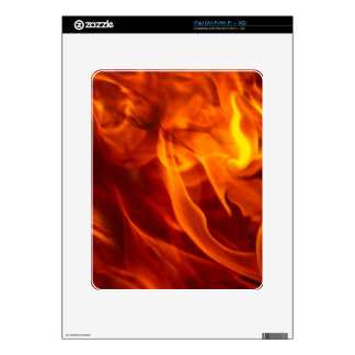 Fire & Flames Burning Fiery Gift Item Skins For The iPad