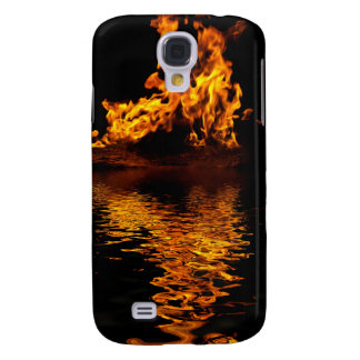 Fire Flames Burning Hot Samsung Galaxy S4 Cover