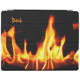 Fire Flames Custom iPad Cover