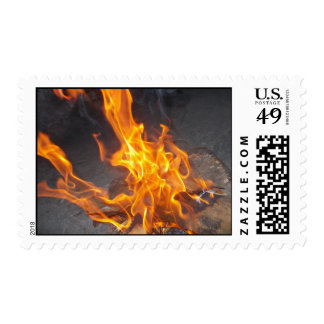 Fire Flames Postage