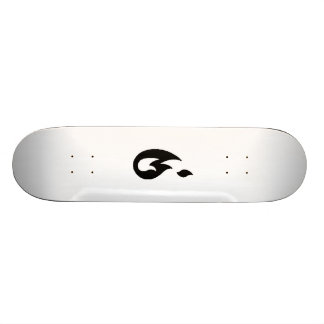 Fire Flames Skateboard