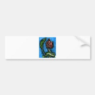 Fire Flower Black Bottom Mambo In The Style Of Bon Bumper Sticker