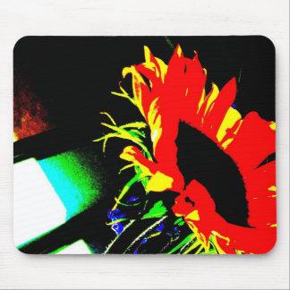 Fire Flower Mouse Mats