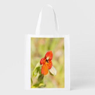 Fire Flower Reusable Bag Market Totes