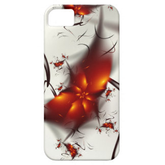 Fire Flowers & Ashes Abstract Fractal iPhone SE/5/5s Case