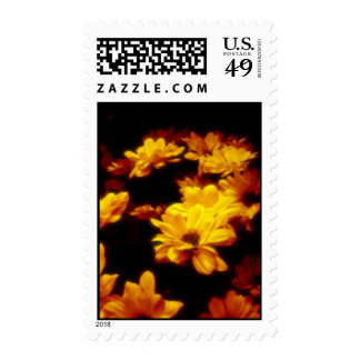 Fire flowers postage