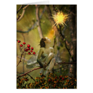 fire fly greeting card