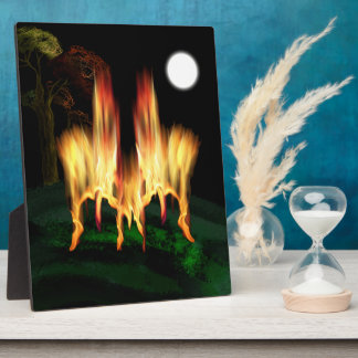 Fire Fly Plaque
