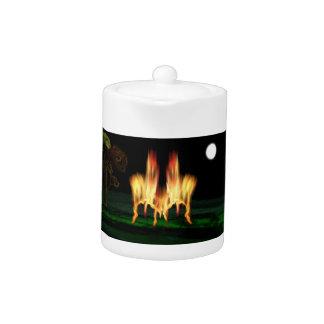 Fire Fly Teapot