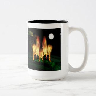 Fire Fly Two-Tone Coffee Mug
