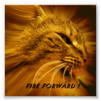 Fire Forward-Motivational Posters